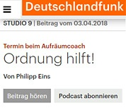 aufraeumcoach-schilke-deutschlandradio-2018